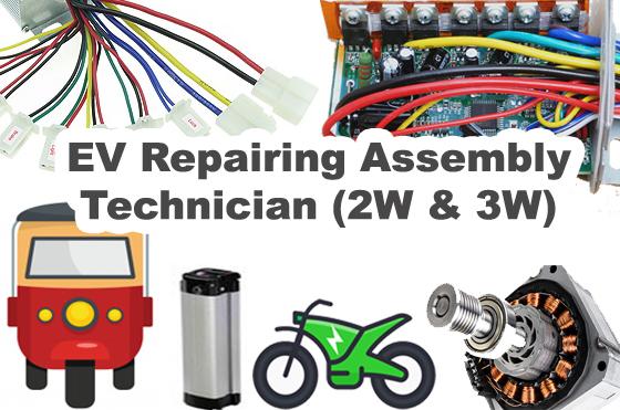 Electric Bike and E-rickshaw Repairing